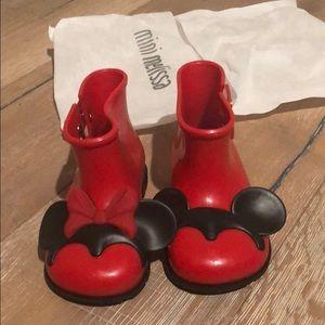 Mini Melissa boots